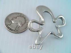 Georg Jensen Denmark Sterling Silver Pin/brooch #321 Henning Koppel Splash