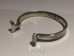 Georg Jensen Denmark Torun Sterling Silver Modernist Bracelet 207