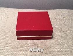 Georg Jensen Denmark Vintage Sterling Silver Cufflinks & Box #255