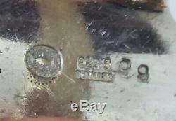 Georg Jensen Denmark Vintage Sterling Silver Koppel Modernist Ring Size 6 #99