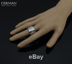 Georg Jensen Fusion 18K Whitegold Ring 0.20ct A904