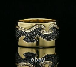 Georg Jensen Fusion Ring 18K Gold with 1.30 ct Diamonds A1241