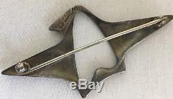 Georg Jensen Henning Koppel Vintage 925 Sterling Silver Pin Brooch # 340