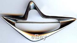 Georg Jensen Henning Koppel Vintage Modernist Sterling Silver Pin