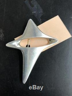 Georg Jensen Henning Koppel Vintage Modernist Sterling Silver Pin Brooch