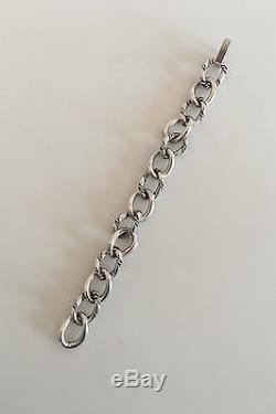 Georg Jensen Inc Sterling Silver Bracelet #100