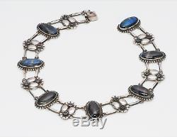 Georg Jensen Labradorite 830 Silver Necklace