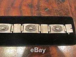 Georg Jensen Men's Sterling Silver Bracelet #56A Henry Pilstrup 1945 Hallmarks