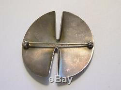 Georg Jensen Mid-Century Sterling Brooch Pin #337B Nanna Ditzal Design