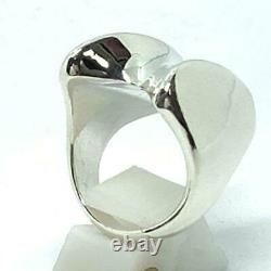 Georg Jensen Ring #140 Sterling Silver Denmark Jewelry #13528