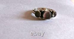 Georg Jensen Ring #3 Sterling Silver Denmark Jewelry #13494