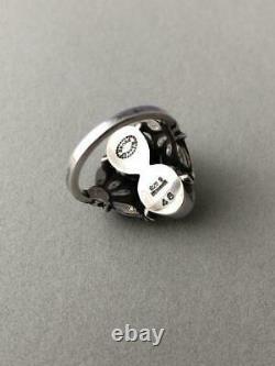 Georg Jensen Ring #48 Sterling Silver Denmark Jewelry #13485
