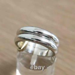Georg Jensen Ring #A119 Sterling Silver Denmark Jewelry #13460