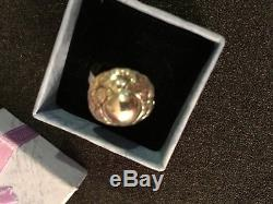 Georg Jensen Ring Sterling Silver Denmark. 925 Sz 4.75 Vintage
