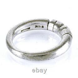 Georg Jensen Ring Sterling Silver Denmark Jewelry #13920