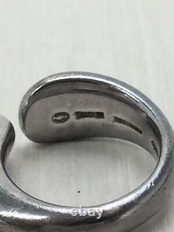 Georg Jensen Ring Sterling Silver Denmark Jewelry #13945
