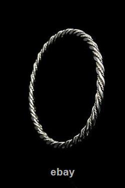 Georg Jensen Sterling Silver Bangle Bracelet #17B Denmark