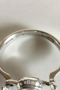 Georg Jensen Sterling Silver Bangle Watch with Rock Crystal Face No 231