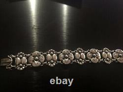 Georg Jensen Sterling Silver Bracelet #27, Old Mark