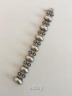 Georg Jensen Sterling Silver Bracelet #63A