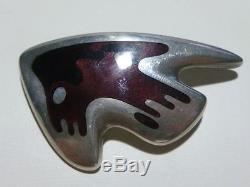 Georg Jensen Sterling Silver Danish Denmark # 307 Hennig Koppel Brooch Pin
