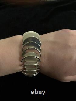 Georg Jensen Sterling Silver Disc Bracelet No. 169