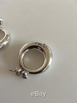 Georg Jensen Sterling Silver Earrings #199