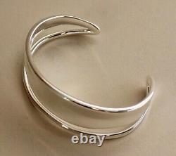 Georg Jensen Sterling Silver Marcia Cuff Bracelet