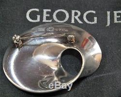 Georg Jensen Sterling Silver Mobius Pendant-Brooch No. 374B by Vivianna Torun