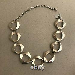 Georg Jensen Sterling Silver Necklace No. 190H By Henning Koppel