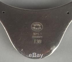 Georg Jensen Sterling Silver Pendant No 138