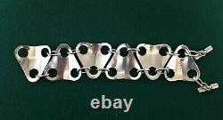 Georg Jensen Sterling Silver Regitze Overgaard No. 465 Bracelet / Modernist