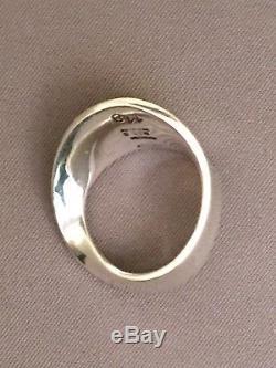 Georg Jensen Sterling Silver Ring # 148 Denmark. Size 5.5