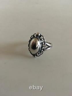 Georg Jensen Sterling Silver Ring #21