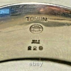 Georg Jensen Sterling Silver Torun Armring No 229 Rutile Bracelet Watch