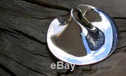 Georg Jensen Torun Mobius Pendant Sterling Silver Vintage #374 Denmark