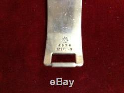 Georg Jensen USA Sterling Silver Bracelet Acorn/Pine Cone Design