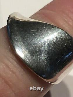 Georg Jensen sterling Silver ring Denmark Vivianna Torun Bülow-Hübe