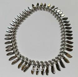 George Jensen Archive Collection #115 Sterling Silver Necklace