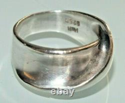 Hans Hansen Sterling Silver Ring Denmark 5,5