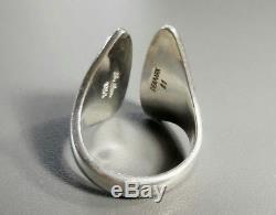 Hans Hansen Vintage Silber Ring #21 Modernist scandinavian silver jewellery