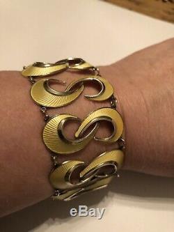 Hans Myhre Sterling Silver bracelet Norway Norwegian Enamel