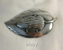 Hedgehog Sterling Silver Brooch Pin Kalavala Koru Finland Vintage Buy It Now