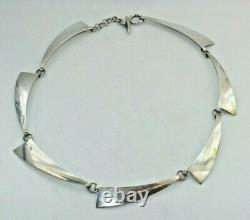 Hermann Siersbøl. Danish Sterling Silver Necklace