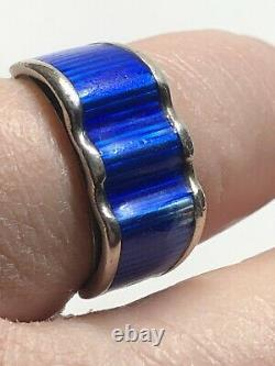 Iconic Grete Prytz Kittelsen Tostrup Sterling Silver ring Norway Norwegian