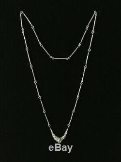 JUHLS KAUTOKEINO Norway Sterling Silver 925s Tundra Series Necklace