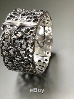 J. Frisenberg from Lillehammer 830s Silver bracelet Norway Norwegian