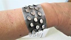 J Tostrup Norway Sterling Silver Cuff Bracelet Grete Prytz Kittelsen