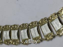 Jan Baalerud Sterling Silver Enamel Necklace Norway Norwegian