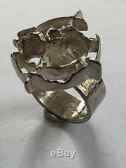 Juhls Kautokeino Sterling Silver ring Norway Norwegian